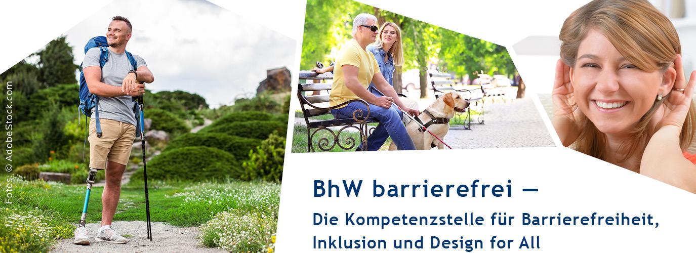BhW barrierefrei — Die Kompetenzstelle für Barrierefreiheit, Inklusion und Design for All