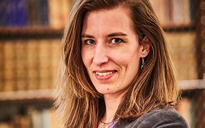 Projektleiterin Birgit Masopust